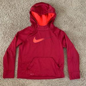 Nike Hoodie Red and Orange
